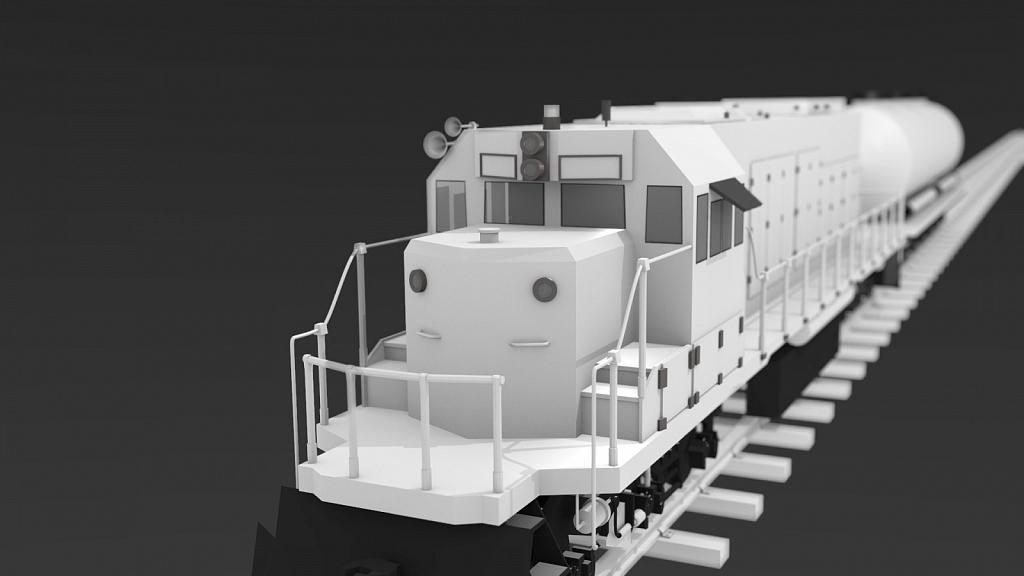 SOD 777 3D model - Made using Blender