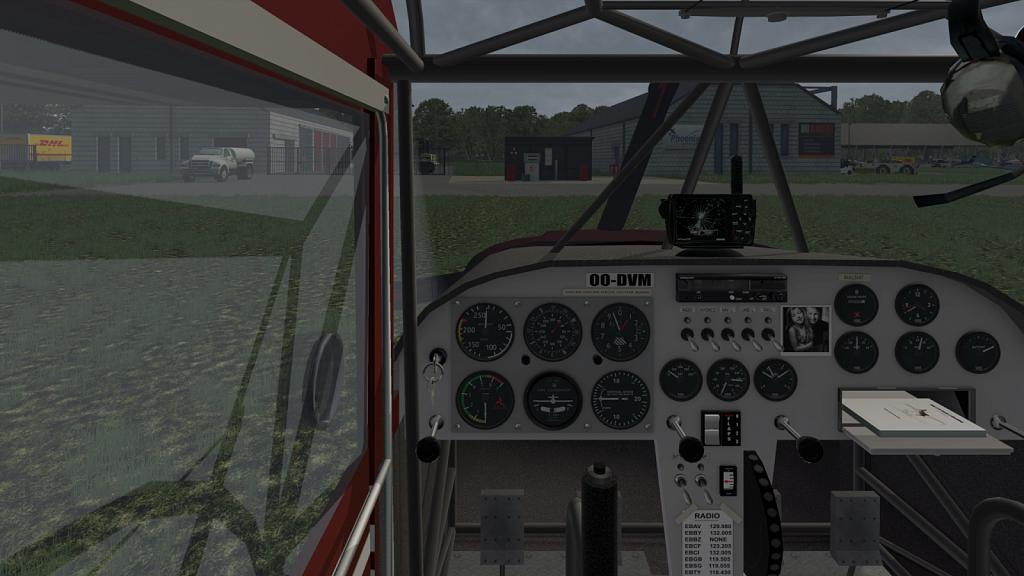 Rans S-6S Coyote II Cockpit view